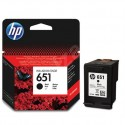 Black Ink Cartridge Hewlett Packard DESKJET 5575, NR.651