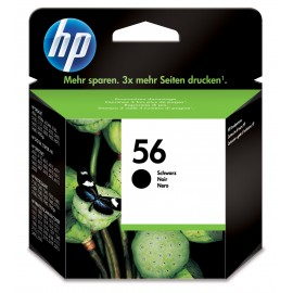 Black Inkjet Cartridge Hewlett Packard OEM C6656AE