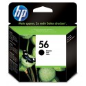 Cartus inkjet Black Original HP 56 - C6656AE