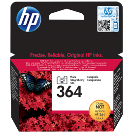 Cartus inkjet Photo Black Original HP 364 - CB317EE