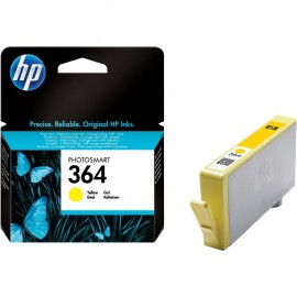 Cartus HP 364, CB320EE, Yellow, Original