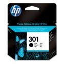 Cartus inkjet Black Original HP 301 - CH561EE - Promo