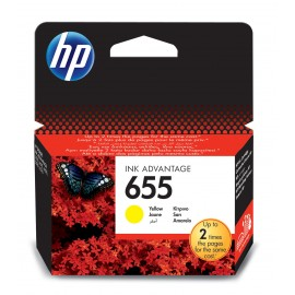 Cartus inkjet Yellow Original HP 655 - CZ111AE