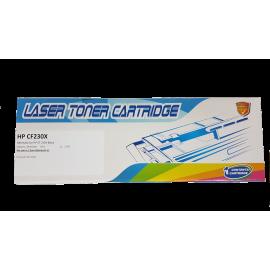 Black Toner Cartridge Hewlett Packard compatibil Rainbow Box HP 30X CF230X - fara chip