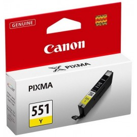 Cartus Canon CLI-551Y, Yellow, Original